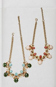 Such gorgeous sparkly stones and crystals! This statement necklace will be perfect for dressing up a LBD.