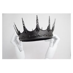 REI Evil King Dragon Slayer Crown ❤ liked on Polyvore featuring home, home decor and dragon home decor