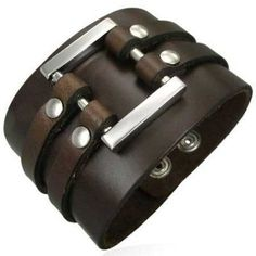 Leather #URBANMALE #MENSJEWELLERY
