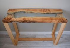 Live Edge River Table - Craig Kimm Custom Woodwork