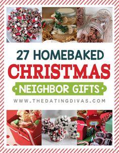27 Homebaked Holiday Neighbor Gifts