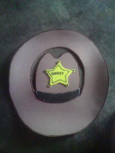 sombrero de foami para vaquero b73cbe05b6d