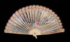 1800-1810 French Silk Fan (Brisé) - Metropolitan Museum of Art