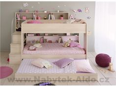 Calling all other sleepover beds: step aside and make way for the Happy Beds Bibop 2 Acacia Bunk Bed with Underbed! Bed With Underbed, Bunk Beds With Drawers, Wooden Bunk Beds, Bunk Beds With Storage, Bunk Bed With Trundle, Cool Bunk Beds, Bunk Beds With Stairs, Twin Bunk Beds, Kids Bunk Beds