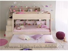 Dětská postel Bibop - 3 osoby