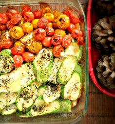 vegetales al horno / delicious and healthy baked vegetables