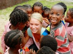 """""""I can honestly say we saved lives"""".  Meet Bea, an extraordinary volunteer who served for 3 months at the nutrition project in Ghana. Her interview! #VolunteerAbroad #Review"""