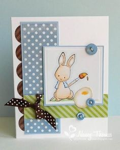 March14Nancy #Easter card