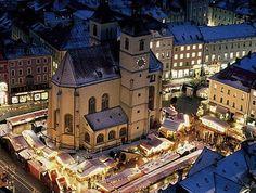 """Christkindlmarkt"" Christmas Market III Regensburg"