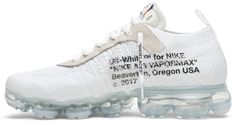 Off-White x Air VaporMax 'Part 2' - Nike - AA3831 100   GOAT New Nike Shoes, Goats, Off White, Buy And Sell, Sneakers, Fashion, Tennis, Moda