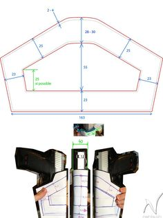 HOW TO MAKE THE TOMB RAIDER UNDERWORLD BELT & HOLSTERS- laracroftcosplay.com Cosplay pics, help and more!