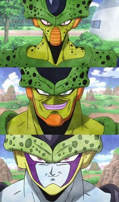 What Effect Did King Cold Have On Perfect Cell? - Other than just looks what effects and power did cell inherited form King Cold In Dragon Ball Z. Arte Lowrider, Akira, Dragon Ball Image, Character Design, Animation, Cartoon, Double Tap, Cell Transformation, Imperfect Cell