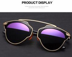 Štýlové polarizované slnečné okuliare - zlato-čierne 9736432e89e