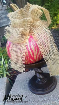 a quick easy way to decorate a pumpkin, crafts, seasonal holiday decor