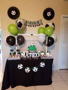 Fiesta tematica de fútbol- Party Soccer