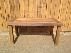 Legs on the far corners makes this table a bit more modern than our usual style! http://urbanminingcosf.com