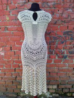 Margareth crochet dress