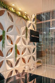 Meu espaço para receber meus queridos clientes - Lorena Tartas Arquitetura e Urbanismo