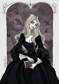 May finally dropped out of the work schedule, I hope to catch up! So many plans, so little time Art prints available on ink fineliner, watercolor and a bit of Photosho. Gothic Drawings, Gothic Artwork, Art Drawings, Dark Gothic Art, Character Art, Character Design, Character Inspiration, Manga Anime, Anime Art