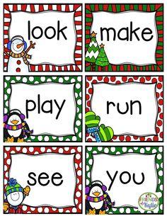 Dolch pre primer flash cards.  Full set.  Grades: Kindergarten, Homeschool. FREEBIE