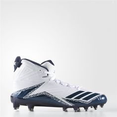 new style 4211f ef001 Adidas Freak X Carbon Mid Cleats (Running White Ftw   Collegiate Navy    Collegiate Navy