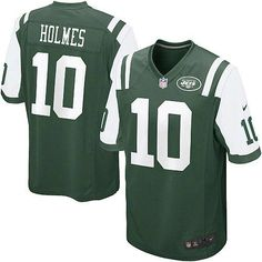 Youth Nike NFL New York Jets http://#10 Santonio Holmes Game Team Color Green Jersey$59.99