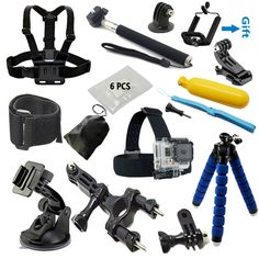 $20.60 (Buy here: https://alitems.com/g/1e8d114494ebda23ff8b16525dc3e8/?i=5&ulp=https%3A%2F%2Fwww.aliexpress.com%2Fitem%2FGopro-accessories-Set-gopro-case-Chest-Belt-Head-Mount-Strap-Go-pro-hero3-Hero4-3-2%2F32654131837.html ) Gopro accessories Set Monopod tripod Chest Belt Head Mount Strap Go pro hero4 3 Black Edition SJCAM SJ4000 Xiaoyi Eken H8 H9 H9R for just $20.60