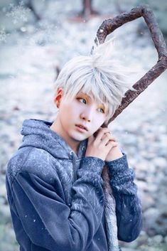 Jack Frost (Rise of the Guardians) Cosplay Anime, Disney Cosplay, Epic Cosplay, Cosplay Makeup, Amazing Cosplay, Cosplay Outfits, Free Cosplay, Superhero Cosplay, Jack Frost Cosplay