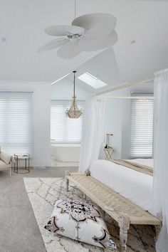 Luxaflex Silhouette Shadings, Master Bedroom - Three Birds Renovations House 8, Bonnie's Dream Home | Master Bedroom Extension | Master Bedrooms | Master Bedroom Makeover Before And After. #bedroomdecor #Interior design