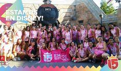#CoralJ16 copando todo en #WaltDisneyWorld!#EstamosEnDisney con #Enjoy15!