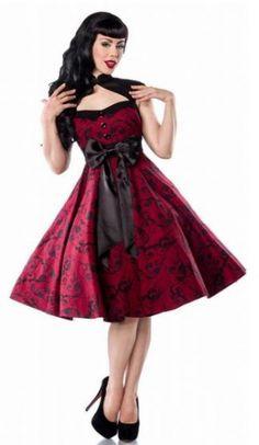 "Petticoat-Kleid ""Archaize"" / Rockabilly-Rumble Dress by Julie Rojas @sylphic"