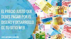Descubre por qué el precio del diseño y desarrollo web varía tanto en función de unos proyectos u otros y averigua cuanto vale tu sitio web.