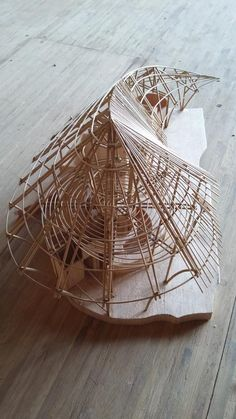 Bamboo framing model