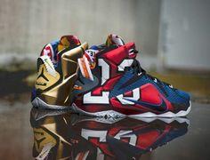 "Nike LeBron XII 'What The"""