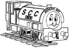THomas SCC Coloring Page