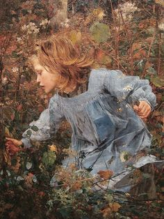 """""""Le Père Jacques (Woodgatherer)(detail)"""" (1881) ~Jules Bastien-Lepage (French, 1848 -1884) ~ Milwaukie Art Museum (Stefano) ~ Miks' Pics """"Artsy Fartsy lll"""" board @ http://www.pinterest.com/msmgish/artsy-fartsy-lll/"""