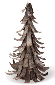 Foreside Birch Bark Tree Decoration | Nordstrom