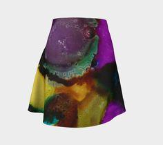 Contempo II - Flare Skirt