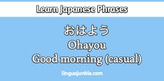say hello in japanese #learn #Japanese