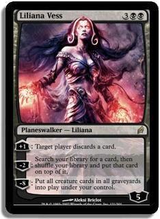 Magic The Gathering MTG Liliana Vess Lorwyn Condition: NM/M Rare $7.99
