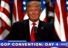 TRUMP UNITES THE GOP: Donald Trump took the stage this evening, like a warrior dressed for battle, and accepted his party's nomination for president of the United States. Promising to restore law and order within our borders, he carefully laid out his vision to make America great again. #DonaldTrump #NTEB http://www.nowtheendbegins.com/donald-trump-accepts-nomination-for-president-united-states-america/