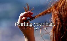Just girly things Des-Chan ~ i do this when i get nervous