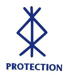 Viking Protection Rune, Protection Sigils, Symbole Protection, Protection Tattoo, Viking Rune Tattoo, Rune Viking, Norse Tattoo, Armor Tattoo, Viking Tattoos