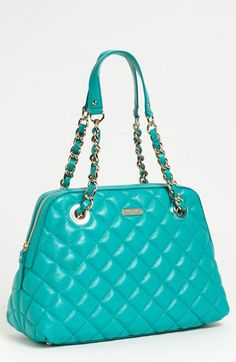 kate spade new york 'gold coast - georgina' quilted shopper   this is destiny...its even named after me!