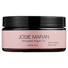 Josie Maran Whipped Argan Oil Ultra-Hydrating Body Butter - Whipped Argan Oil Ultra-Hydrating Body Butter Sweet Citrus  #sephora