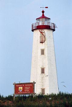 Lighthouse - Faulkner's (Falkner's) Island, Connecticut, USA