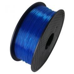 PLA Filament blau transparent 1.75mm 1kg ✓ zertifiziert ✓ Premium Qualität ✓ attraktiver Preis ✓ Blitzversand aus Berlin ✓ viele andere Materialien vorhanden