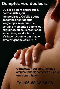 Domptez vos douleurs avec l'hypnose et la PNL...