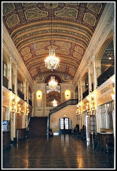 Lobby Area of the Embassy Theatre ~ Fort Wayne ~ IN
