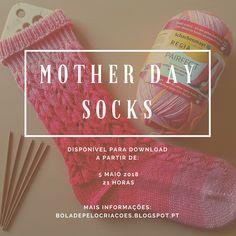 MOTHER DAY SOCKS - A pensar nas mães!!! Fique a saber mais acerca deste modelo, clicando na imagem.